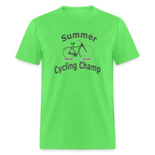 Summer Cycling Champ - Men's T-Shirt