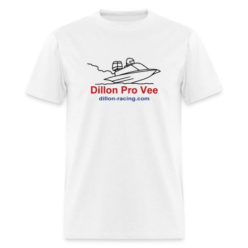 pro-vee-outline - Men's T-Shirt