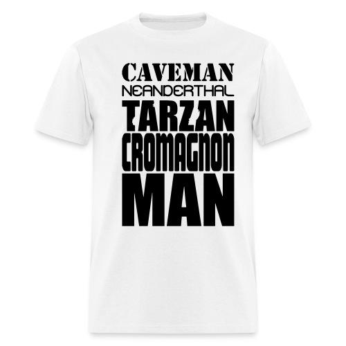 caveman5 - Men's T-Shirt