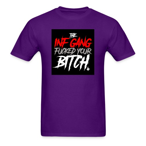 inf_gang_black - Men's T-Shirt
