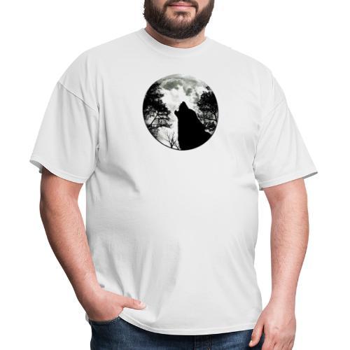wolf moon - Men's T-Shirt