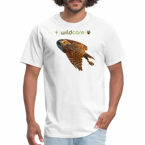 Burrowing Owl in Flight - Men's T-Shirt