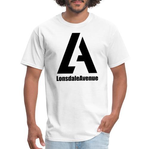 Lonsdale Avenue Logo Black Text - Men's T-Shirt