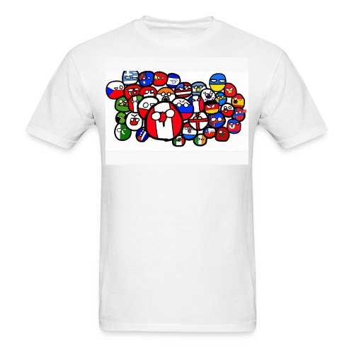 Countryball - Men's T-Shirt