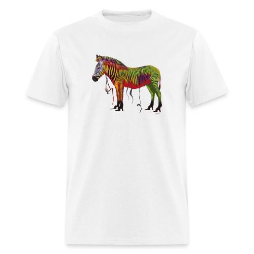 Ned the Performing Zebra - Men's T-Shirt