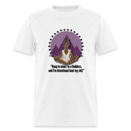 Meditating Goddess - Men's T-Shirt