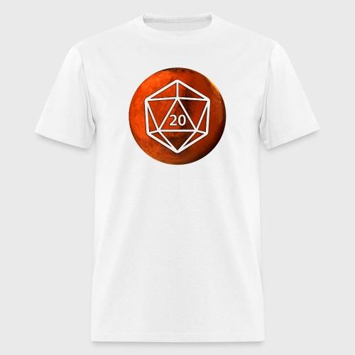 Mars d20 Astronomy Space - Men's T-Shirt