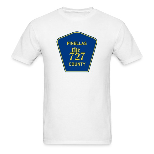 Pinellas the727 County tee - Men's T-Shirt