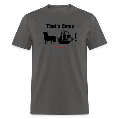 bullship black text - Men's T-Shirt