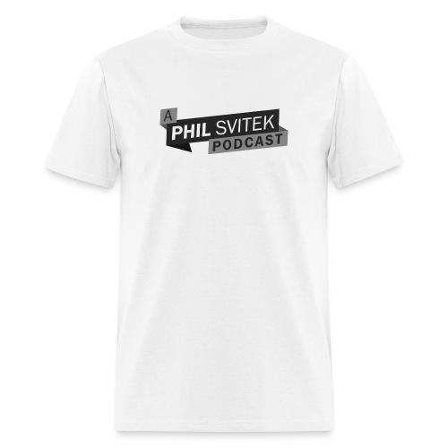 A Phil Svitek Podcast Logo ONLY Design - Men's T-Shirt
