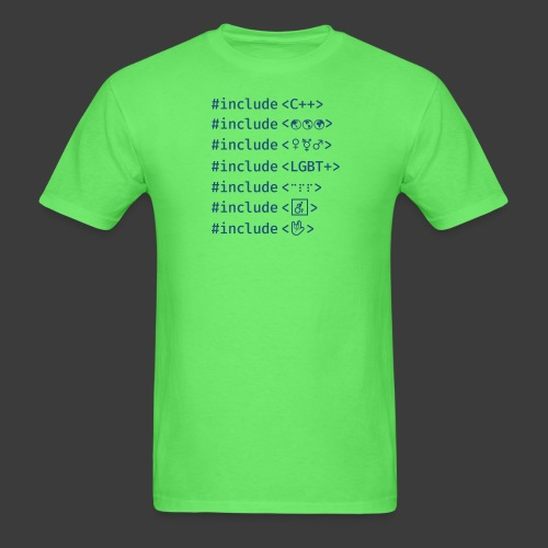 Include List (Light Background) - Men's T-Shirt