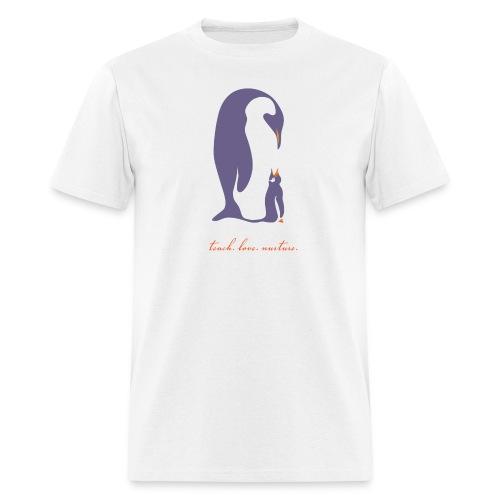 Teach, Love, Nurture - Men's T-Shirt
