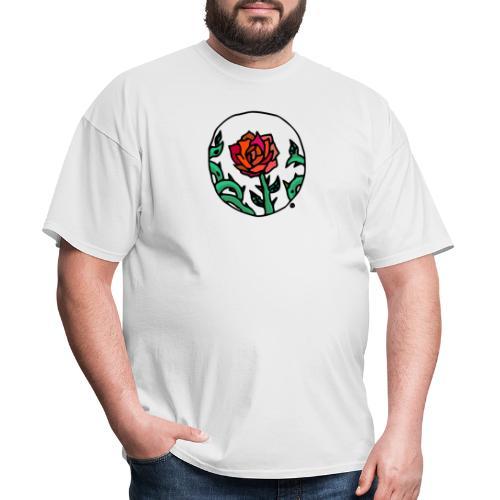 Rose Cameo - Men's T-Shirt