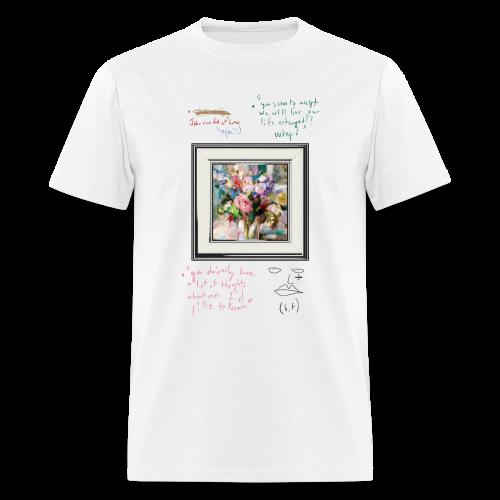 bonsoir, fucker (confessions) - Men's T-Shirt