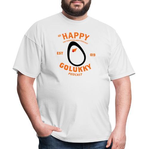 HappyGoLukky Vintage Orange - Men's T-Shirt
