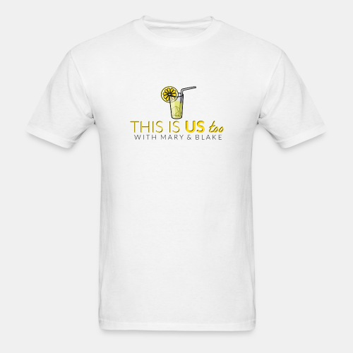 This Is us too logo - Men's T-Shirt