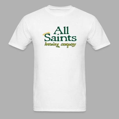 All Saints Logo Full Color - Men's T-Shirt