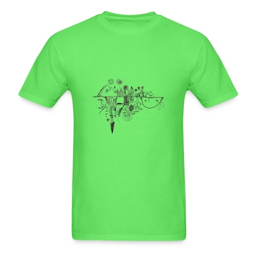 Grit Harbour Logo shirt - Men's T-Shirt