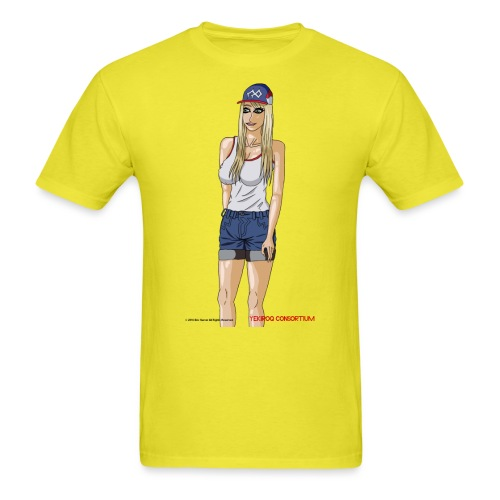 Gina Character Design - Men's T-Shirt