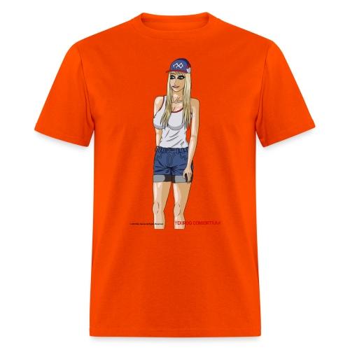 Gina Character Design - Men's T-Shirt