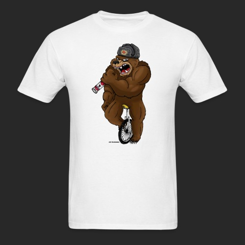 Russian Bear - Men's T-Shirt