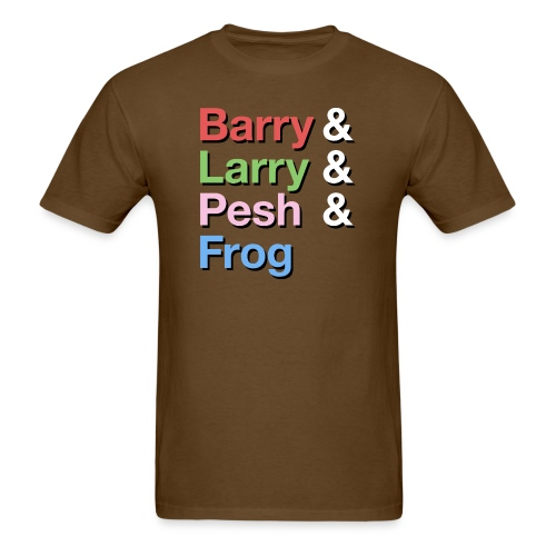 Barry-Larry-Pesh-Frog-Shi - Men's T-Shirt