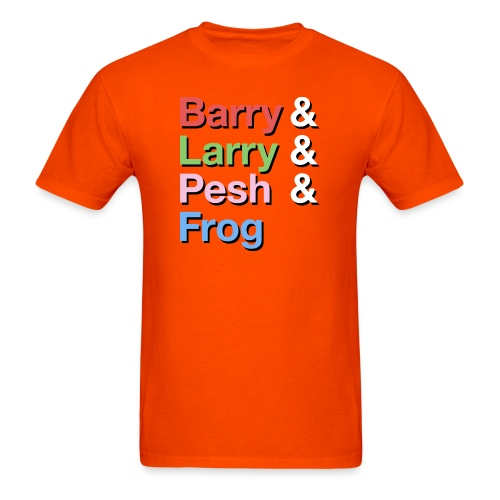 Barry-Larry-Pesh-Frog-Shi - Men's T-Shirt