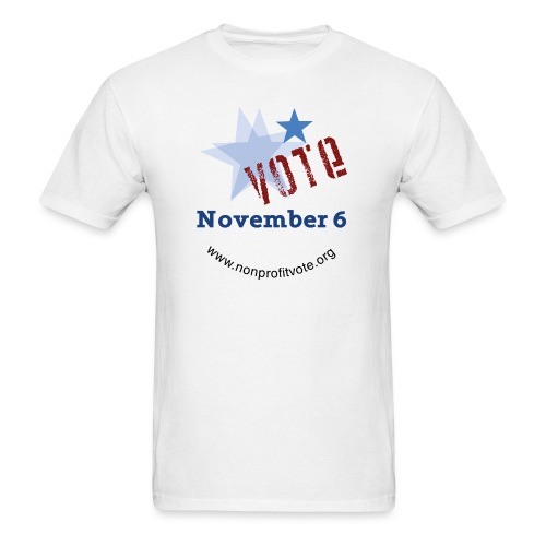 npvote 3 noline - Men's T-Shirt
