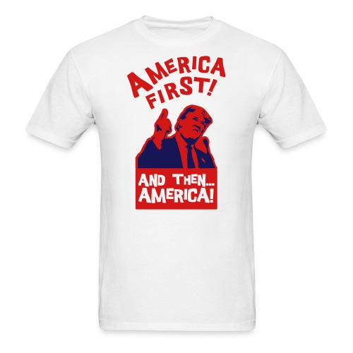 AMERICA FIRST - Men's T-Shirt