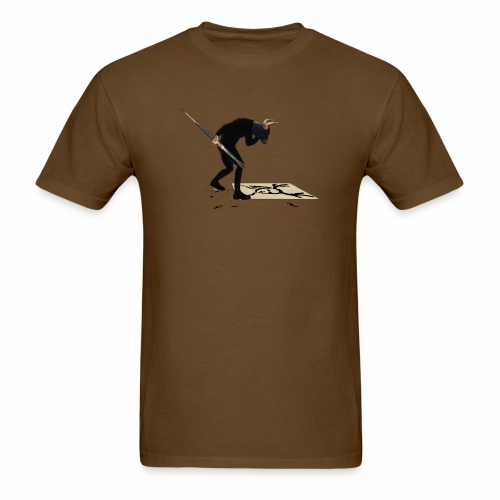 Anguish Artist and AntlerGirl - Men's T-Shirt