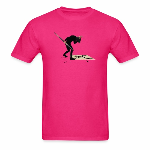 Anguish Artist and AntlerGirl - Men's T-Shirt