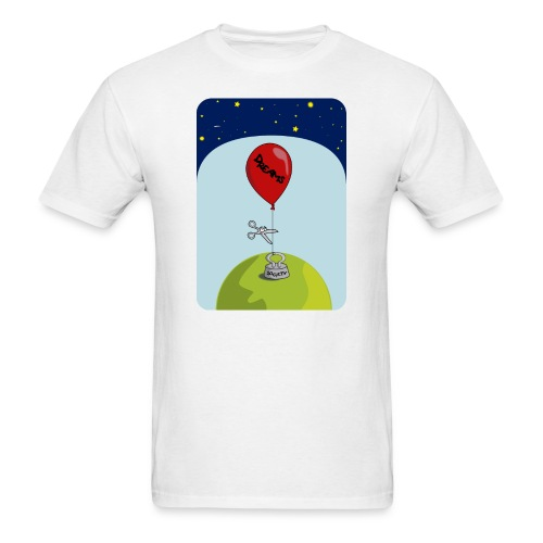 dreams balloon and society 2018 - Men's T-Shirt