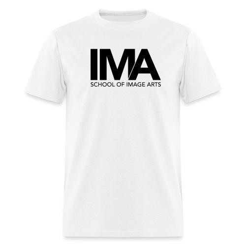 Copy of School of Image Arts Logos Black png - Men's T-Shirt