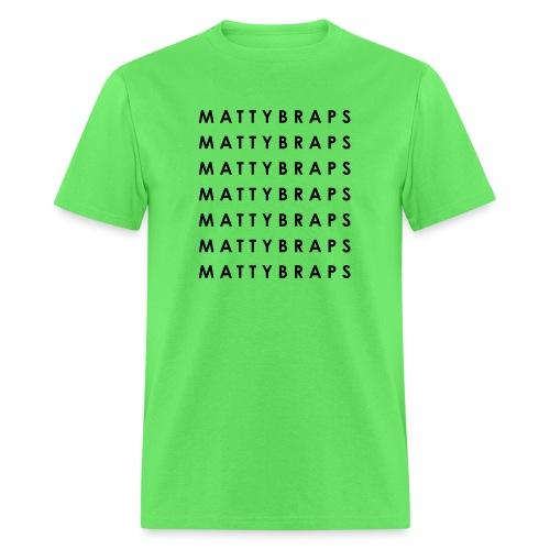 Repeated Name - Men's T-Shirt