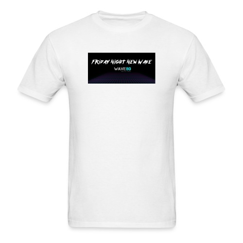 Friday Night New Wave - Men's T-Shirt