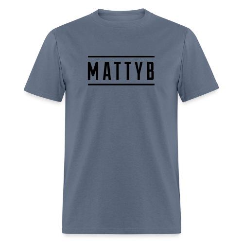 MattyB White Logo - Men's T-Shirt