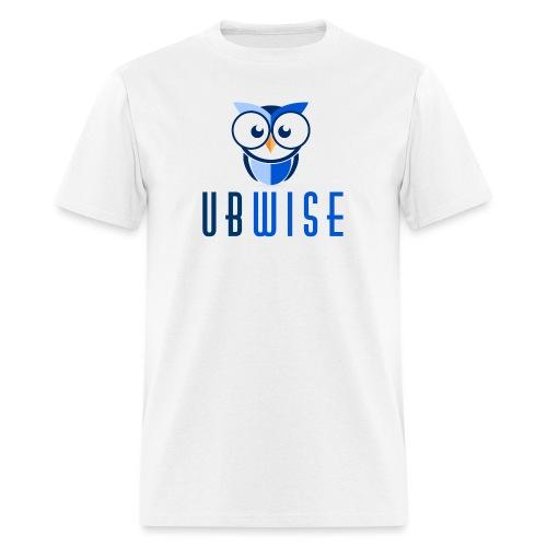UBWise Logo Owl Bottom - Men's T-Shirt