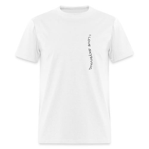 I love skydiving/T-shirt/BookSkydive - Men's T-Shirt