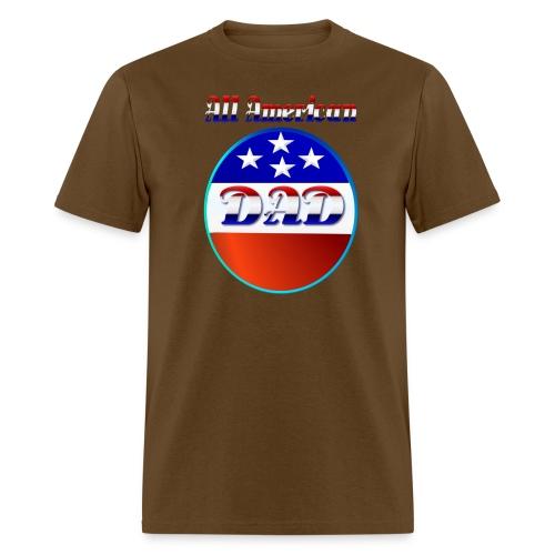 All American Dad - Men's T-Shirt