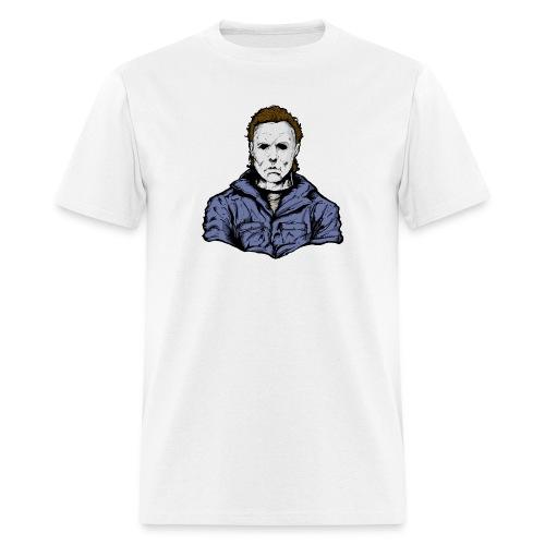 Horror Legend Masked Psycho Crazed Killer - Men's T-Shirt
