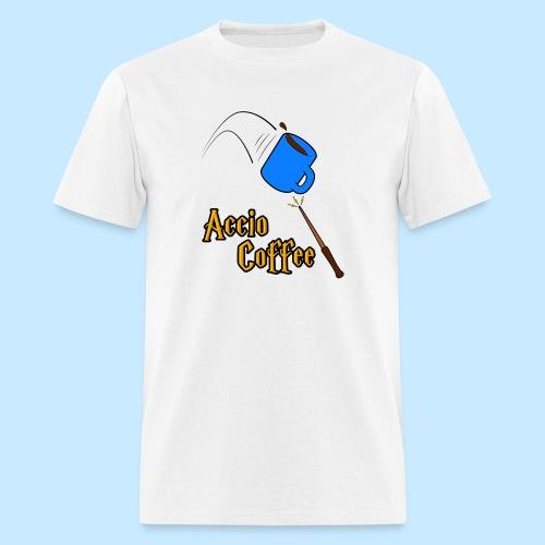 Accio Coffee MUG both v1 png - Men's T-Shirt
