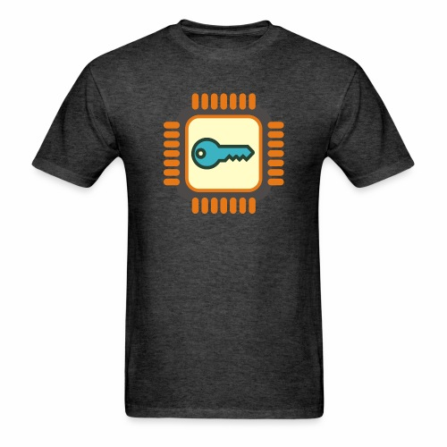 Micro Crypto Chip - Men's T-Shirt