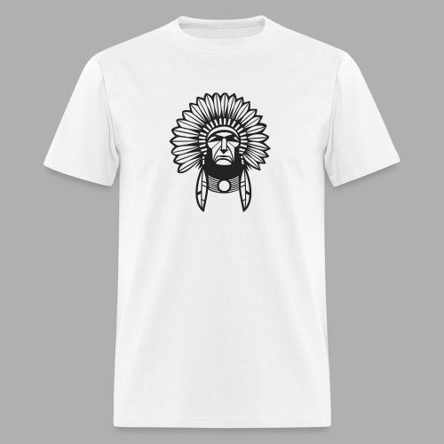 indian design (diseño de indio) - Men's T-Shirt