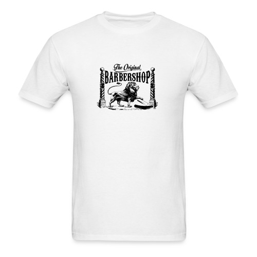 The Original Barbershop - Men's T-Shirt
