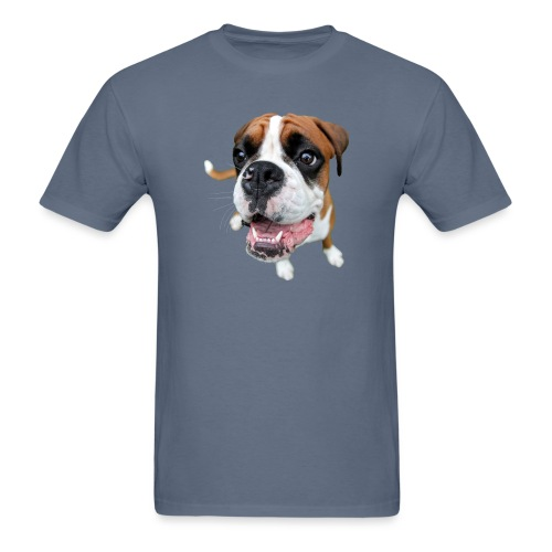 Boxer Rex the dog - Men's T-Shirt