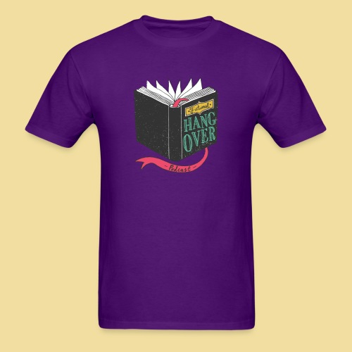 Fictional Hangover Book - Men's T-Shirt