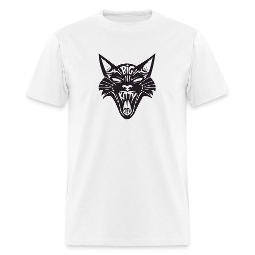Big Kitty-Screaming Cat - Men's T-Shirt