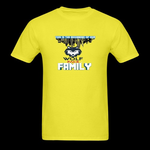 We Are Linked As One Big WolfPack Family - Men's T-Shirt