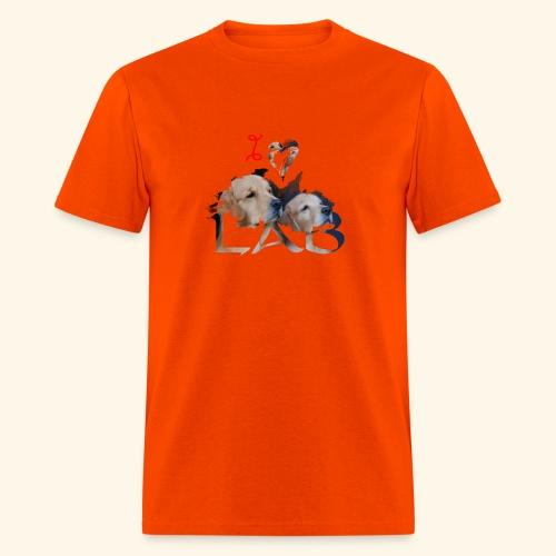 I love Lab - Men's T-Shirt