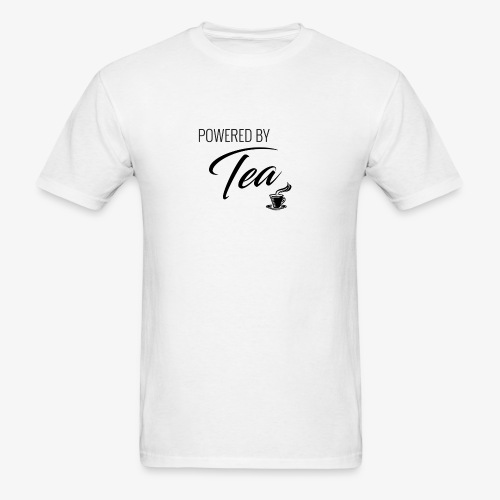 Powered by Tea - Men's T-Shirt